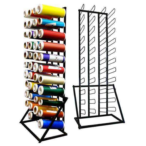 Wensco Sign Supply Sign Vinyl Storage Racks Vinyl Roll
