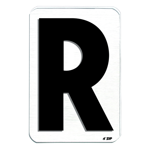 Zcb4r R Black 4in Zip Change Letter Wensco Sign Supply There are 1 wensco for sale on etsy, and they cost $2.97 on average. wensco sign supply