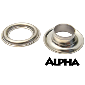 Alpha #2 Nickel Grommets - 500/bag