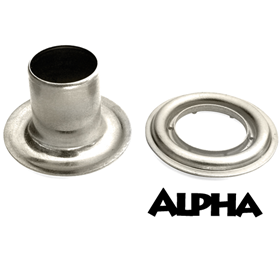 Alpha #2 Nickel Grmt Long Barrel- 500/bg