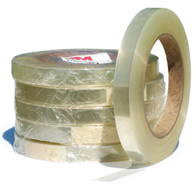 3M 8914 Clr Edge Sealer Tape 1/2inx50yd