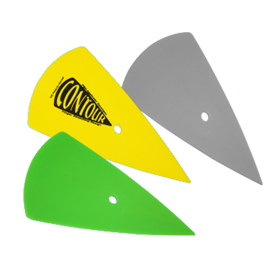 Green Contour Squeegee