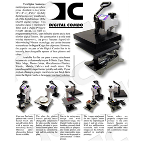 Heat Press Digital Combo 14x16