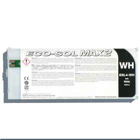 EcoSol MAX2 Ink White 220cc Cartridge