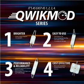 PLED QwikMod 3 True White 200LM/ft
