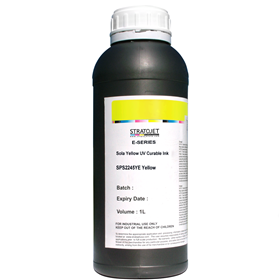 Sola Yellow E-Series UV Curable Ink-1Ltr