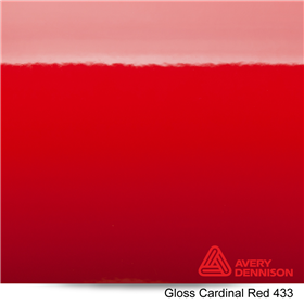 Avery SW900 Gloss Cardinal Red 60inx2yd