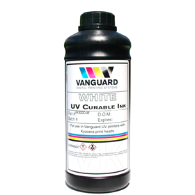 VK300D Series White UV Curable Ink-1ltr