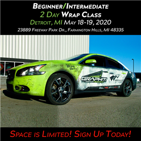 Vehicle Wrap Class - Detroit