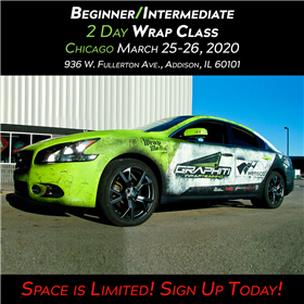 Vehicle Wrap Class - Chicago