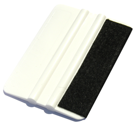3inx4in White Felt Tipped Squeegee #6100