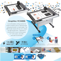 Graphtec Flatbed Plotter 38.4inx25.9in