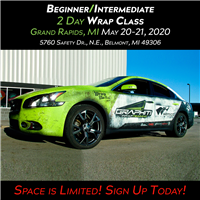 Vehicle Wrap Class - Grand Rapids
