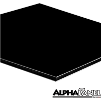 4ftx8ftx3mm Black AlphaPanel