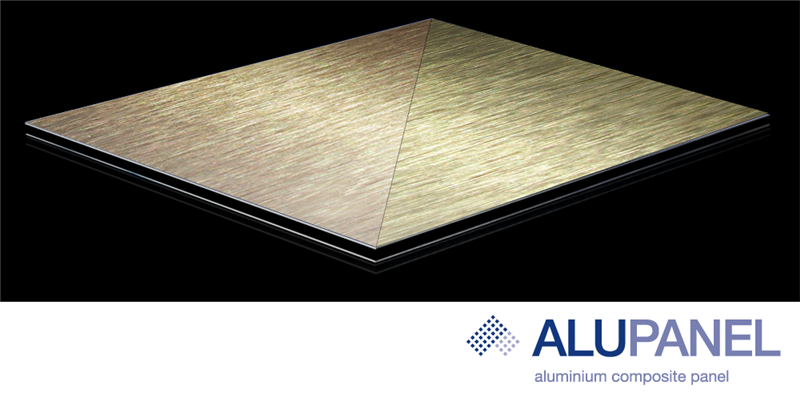Brushed Aluminum Composite Panel : Brushed gold copper alupanel results page