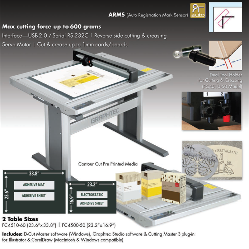 Graphtec FC4500 Series Vinyl Cutter Results Page 1 :: Wensco