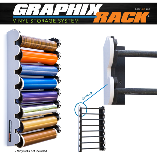 Pvc Storage System : Original graphixrack vinyl storage system discontinued
