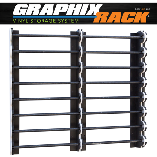 Pvc Storage System : Double graphixrack vinyl storage system discontinued