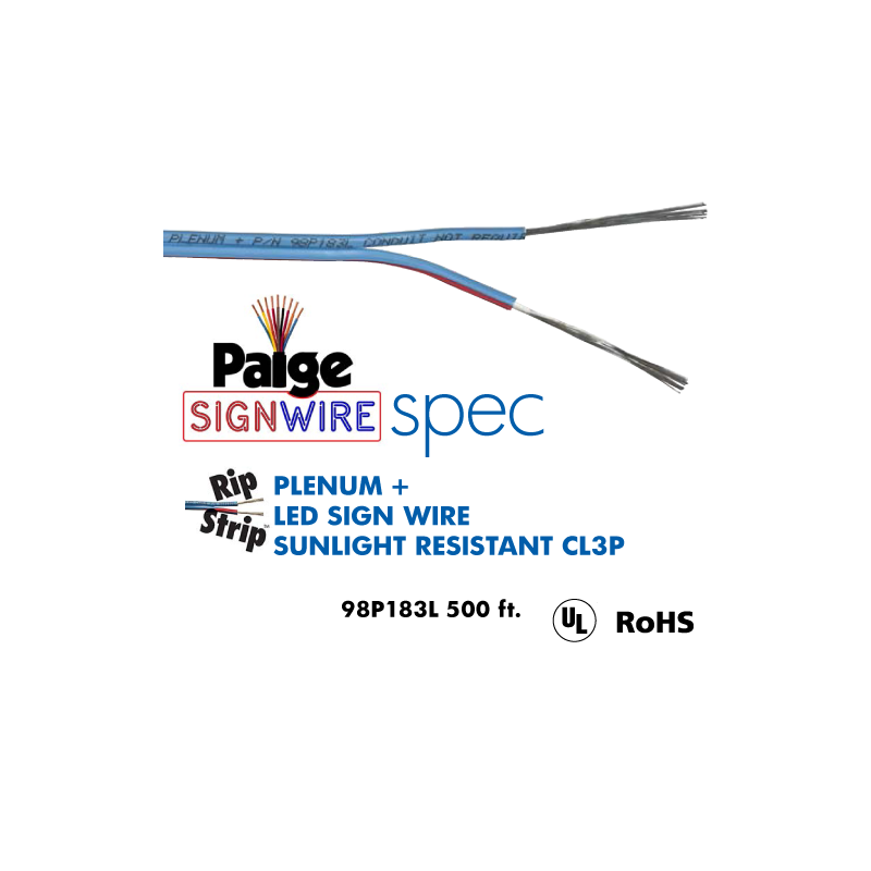 Paige Plus Rip/Strip 2 Wire LED Cable - P98P183L Results Page 1 ...